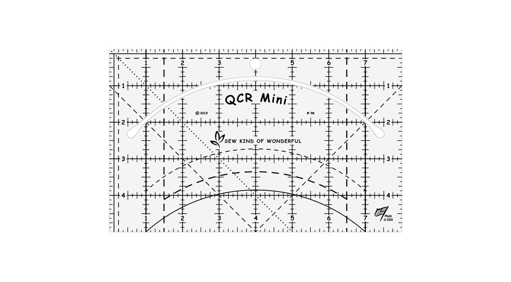 Quick Curve Ruler Mini by Sew Kind of Wonderful