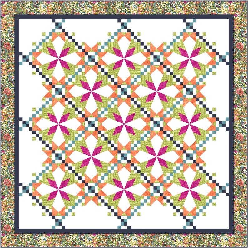 Dogwood Lane Quilt Pattern - Michelle Hiatt - Sew on the Go
