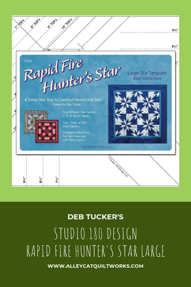 Rapid Fire Hunter's Star - Large Star - Deb Tucker - Studio 180 Design