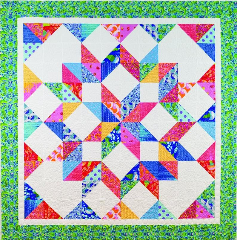 Summer Star Quilt Pattern
