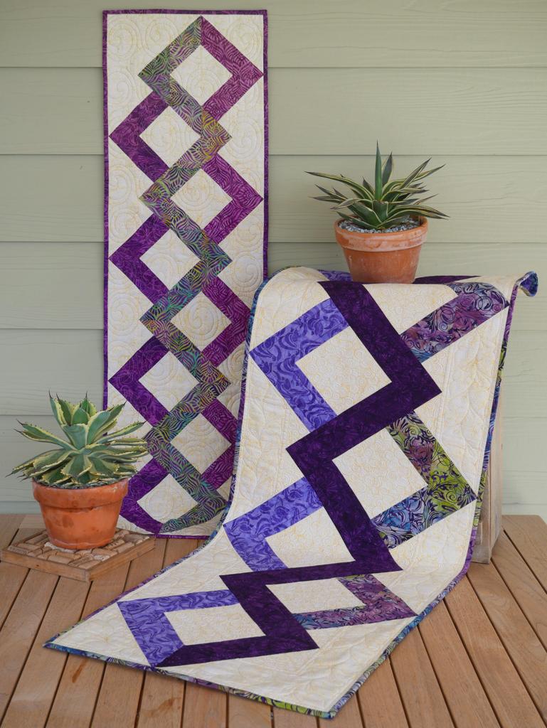 Switchback Quilt Pattern - Studio 180 Design - Deb Tucker