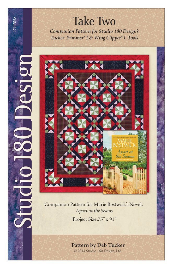 Take Two Quilt Pattern - companion for Marie Bostwick's book Apart at the Seams