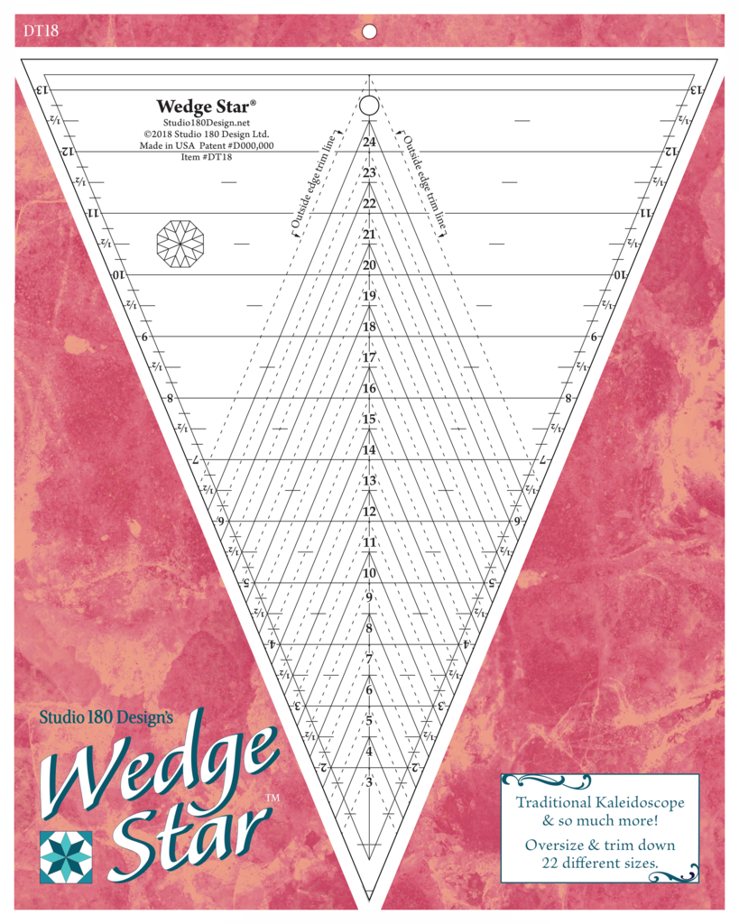 Wedge Star - Deb Tucker - Studio 180 Design