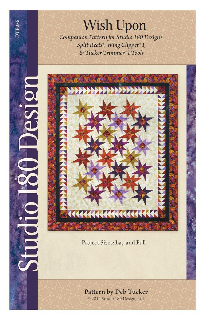 Wish Upon Quilt Pattern - Studio 180 Design - Deb Tucker