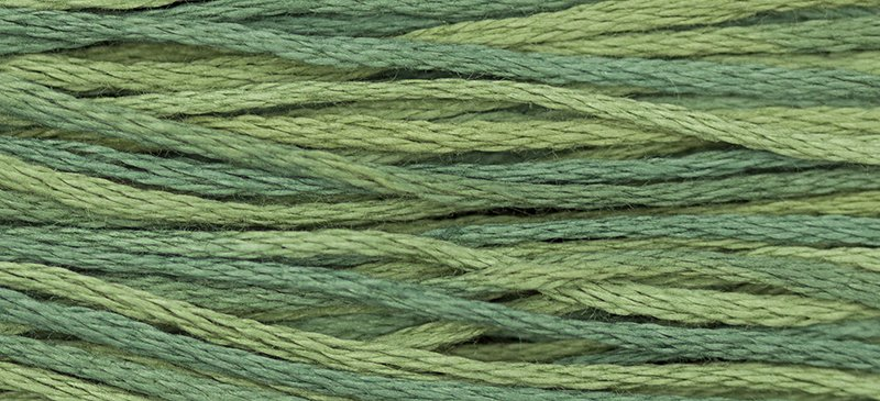 Hand Dyed Cotton Floss   1276 Blue Spruce