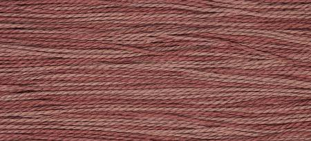 Hand Dyed Cotton Floss   1332 Red Pear