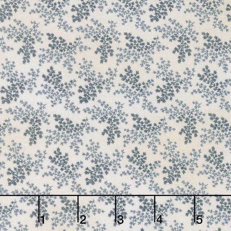 Charlotte C. 1860 dusty blue