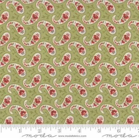 Snowfall Prints Garland Green
