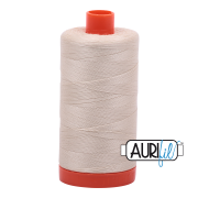 Aurifil 40 wt. 1094 yds. #2310 Light Beige