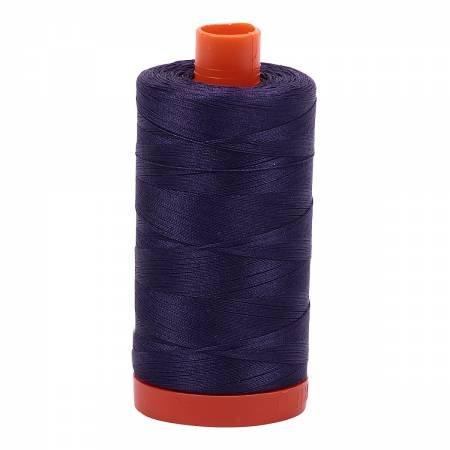 Aurifil Mako Cotton Thread Solid 50wt 1422yds Dark Dusty Grape