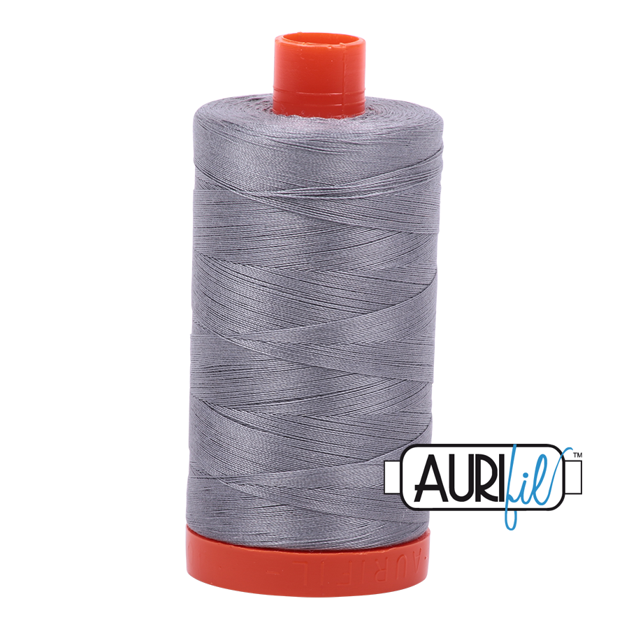 Aurifil 40 wt. 1094 yds. #2605 Grey