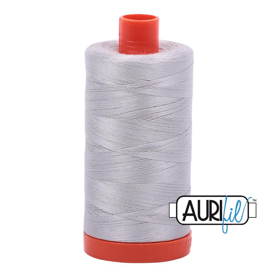 Aurifil 40 wt. 1094 yds. #2615 Aluminum