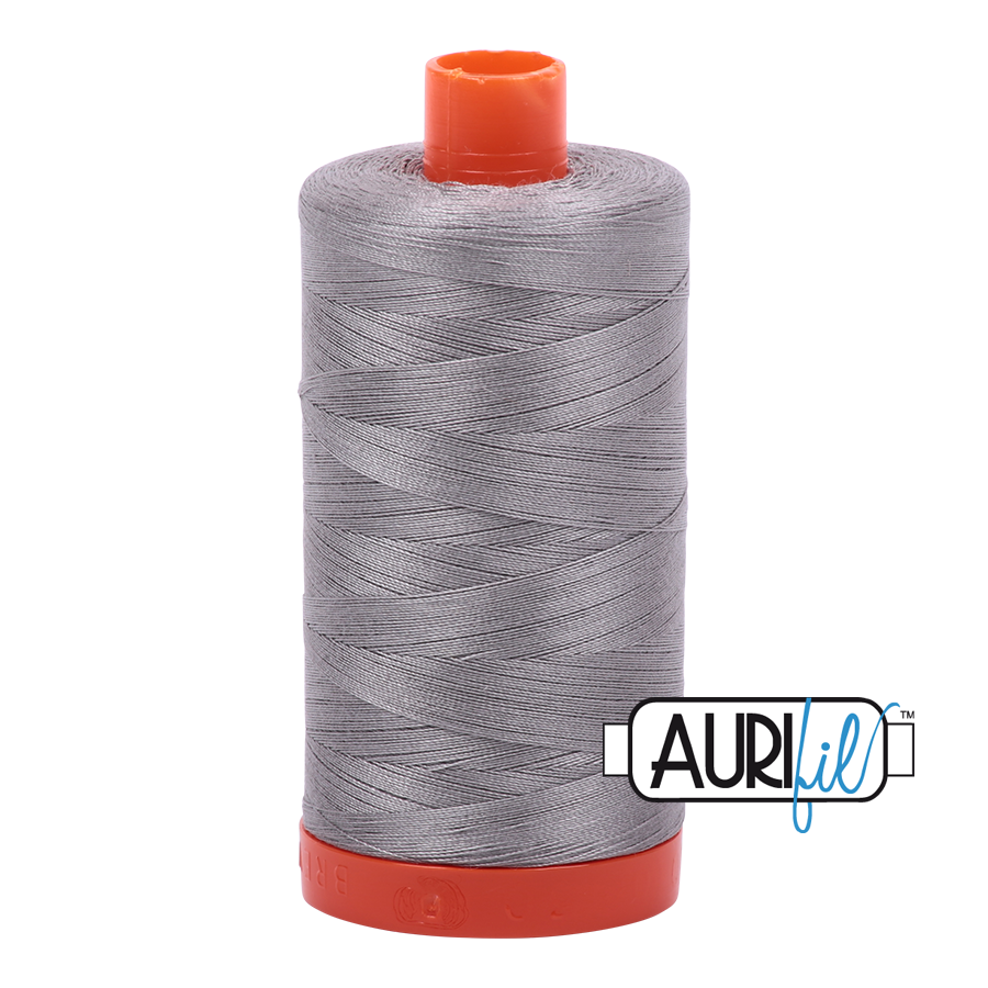 Aurifil 40 wt. 1094 yds. #2620 Stainless Steel