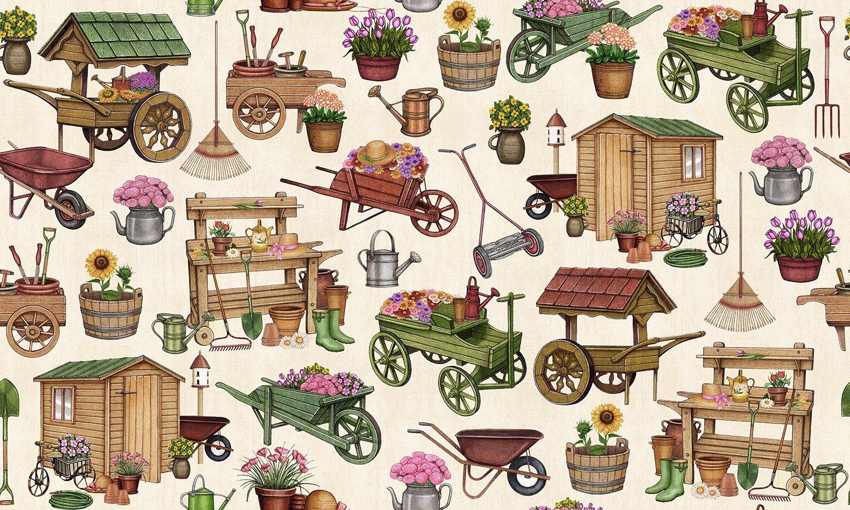A Gardening We Grow Everything Gardening Cream