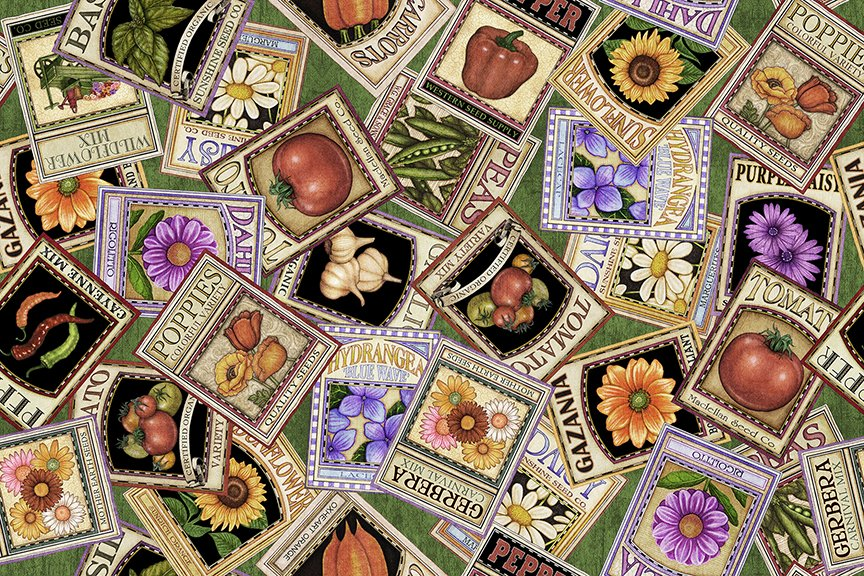 Seed Packets Green