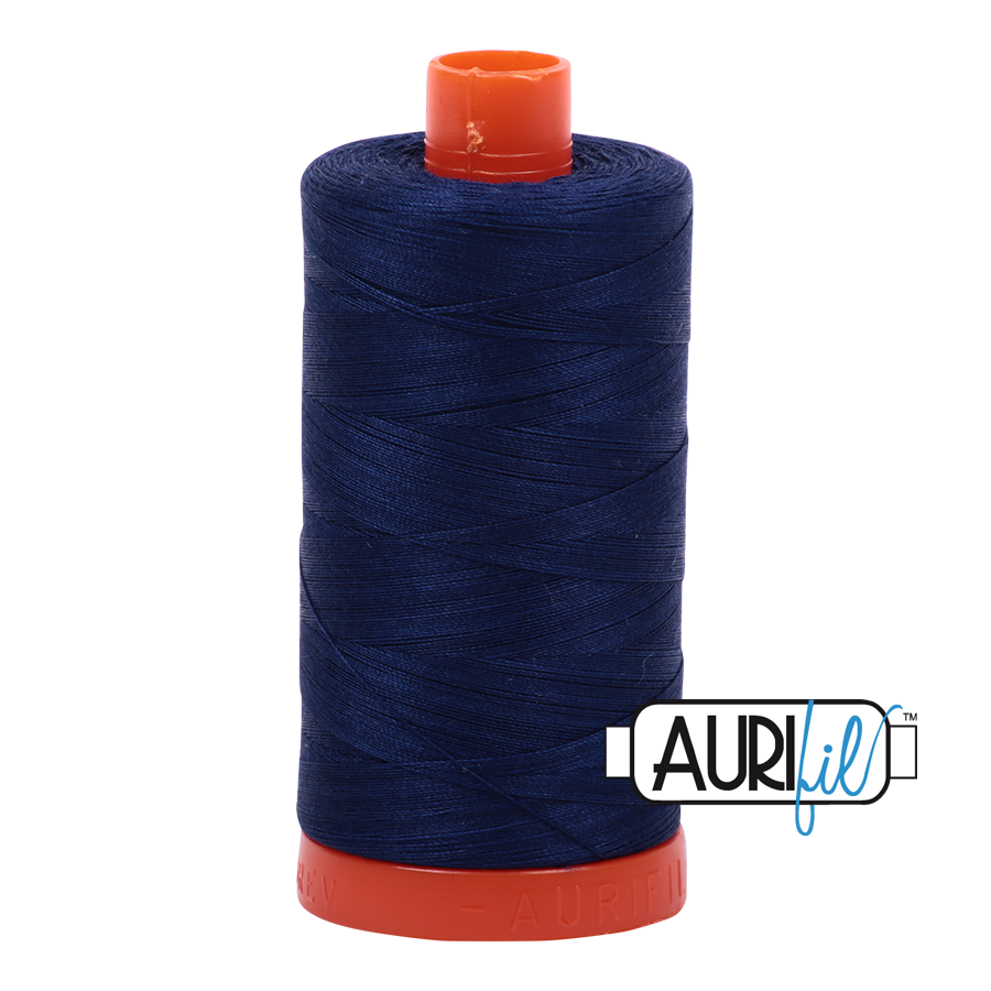 Aurifil 40 wt. 1094 yds. #2784 Dark Navy