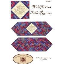 Wildflowers Table Runner