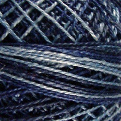Valdani Variegated Pearl Cotton sz 12  O537 Sea Deep
