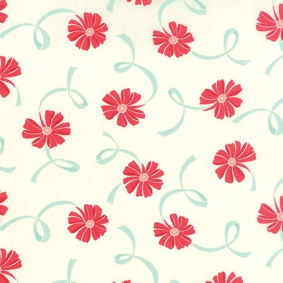 Hello Darling red floral