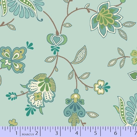 Special Edition Pistachio large print on teal