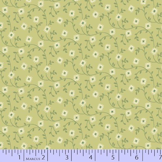Special Edition Pistachio green floral