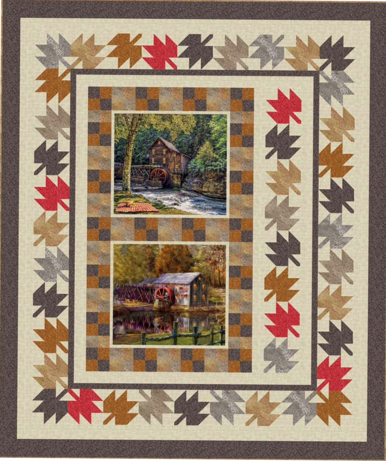Artworks Barns  Quilt kit