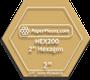 2 HexagonAcrylic Template