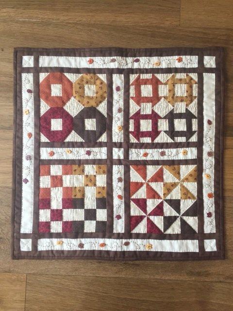 Autumn Sampler quilt kit