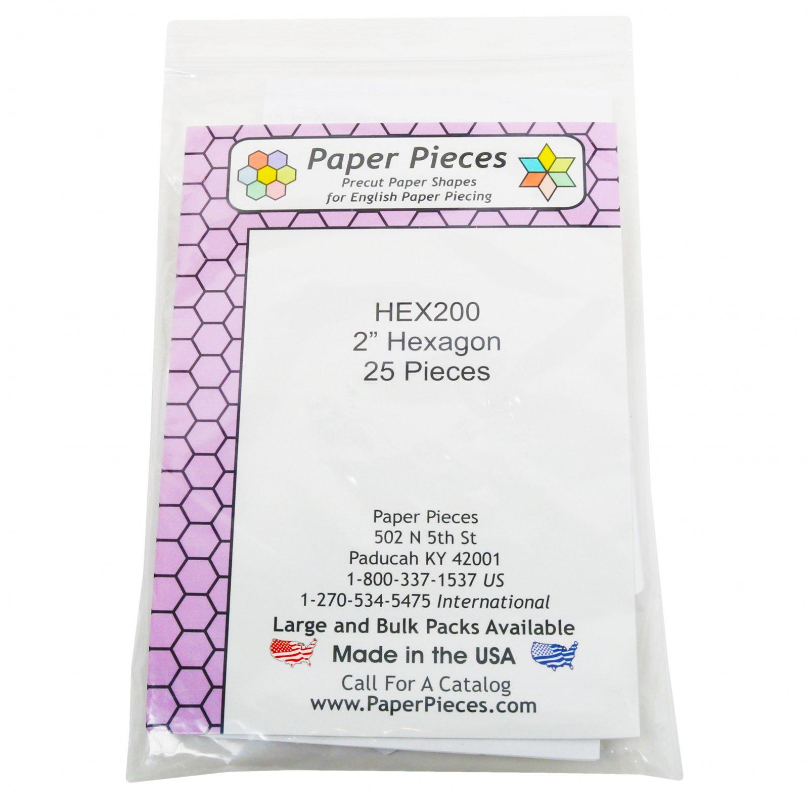 2 Hexagon 25 pieces