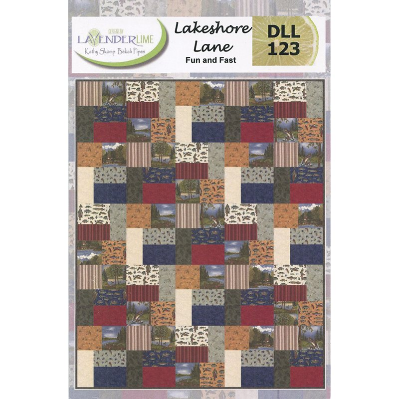 Lakeshore Lane Kit featuring Lake View by Moda