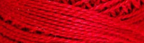 Valdani Pearl Cotton PCS-12-076 red