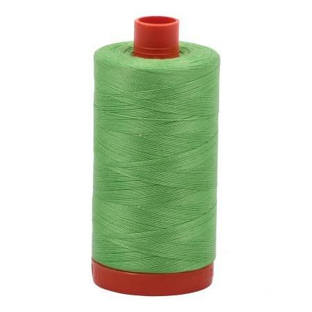 Aurifil Mako Cotton Thread Solid 50wt 1422yds Shamrock Green