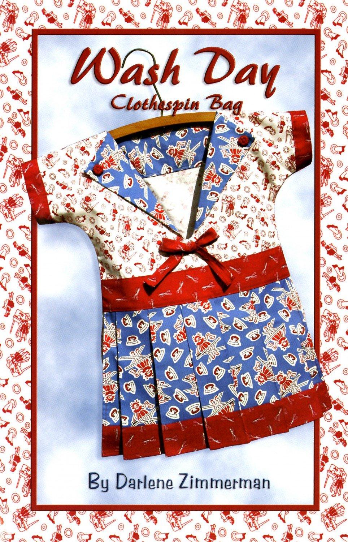 Wash Day Kit - clothes pin bag