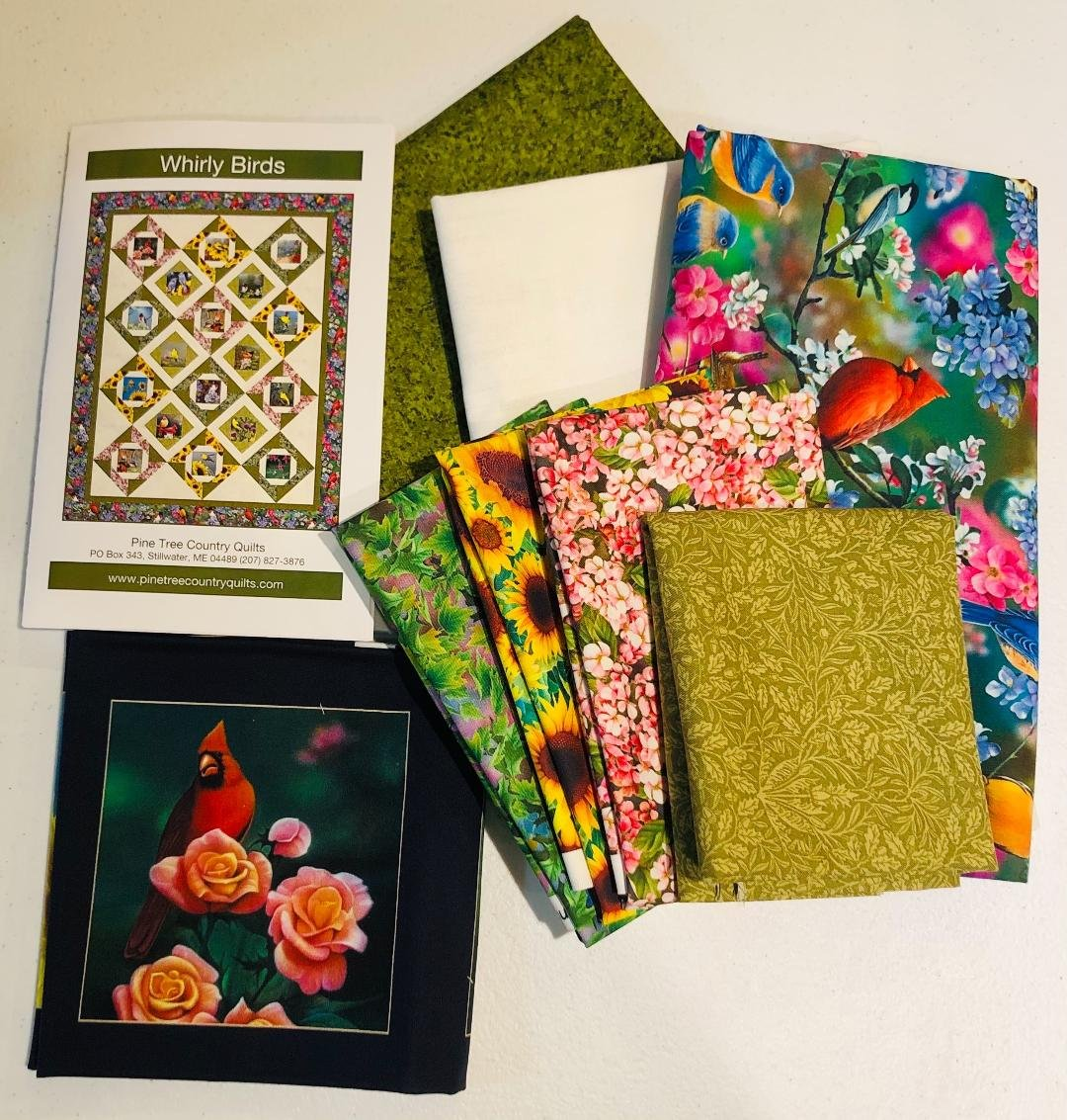 Whirly Birds Quilt Kit