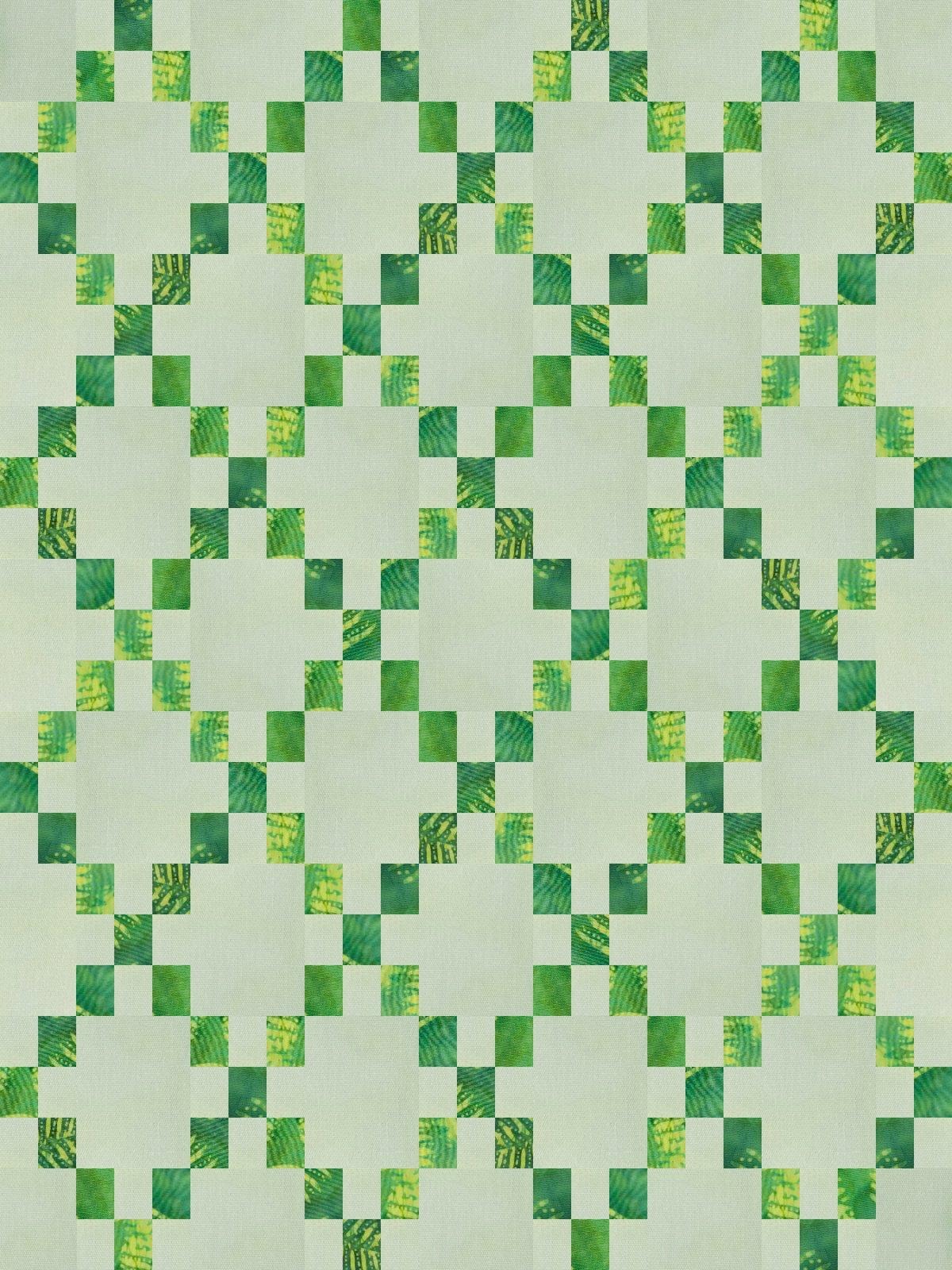 Diamond Chain Link Mini green