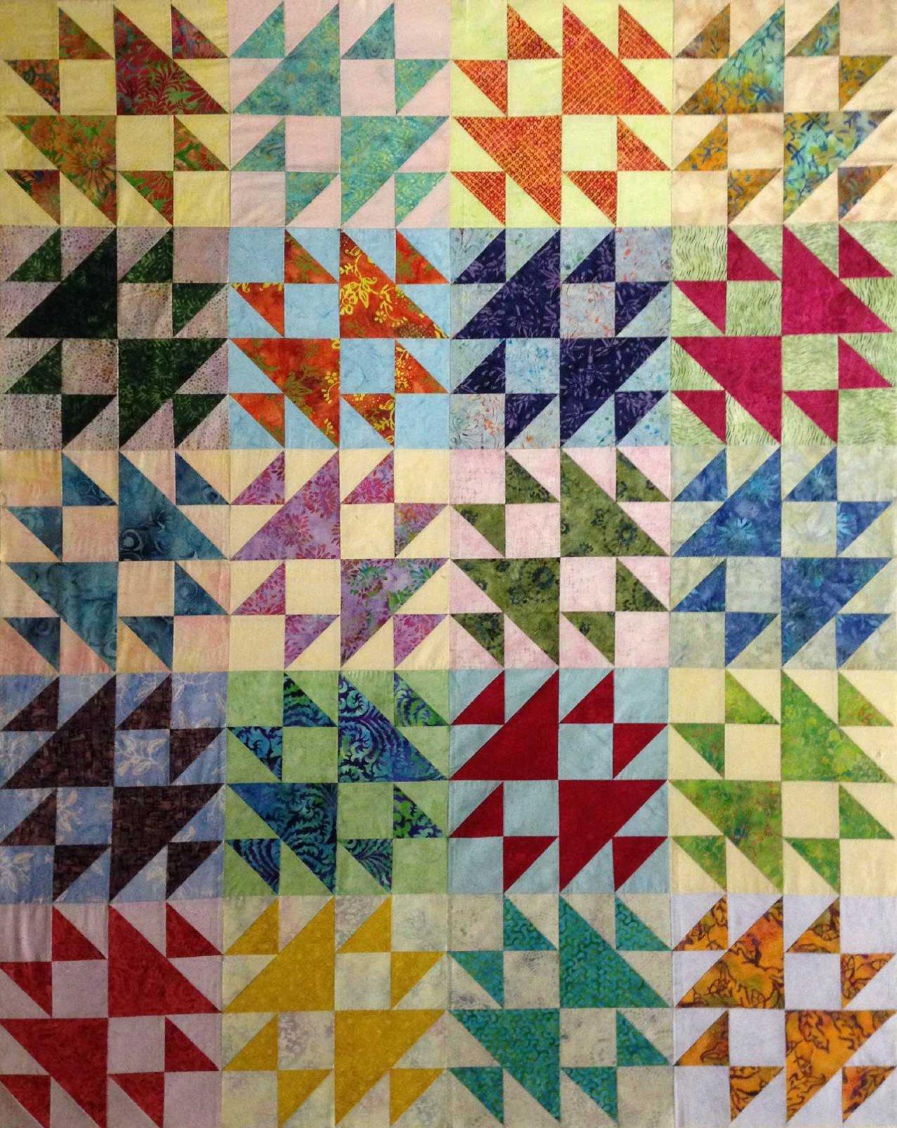 Crosses and Losses Batik Pre-cut Kit
