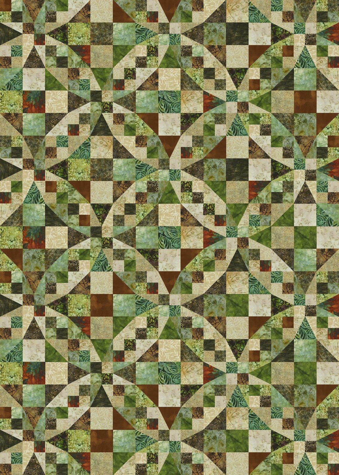 54-40 or Fly   harvest batik