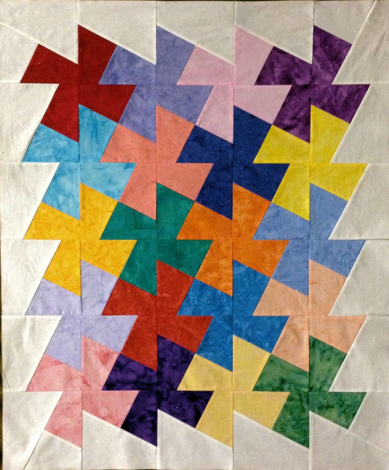 Pinwheel Batik