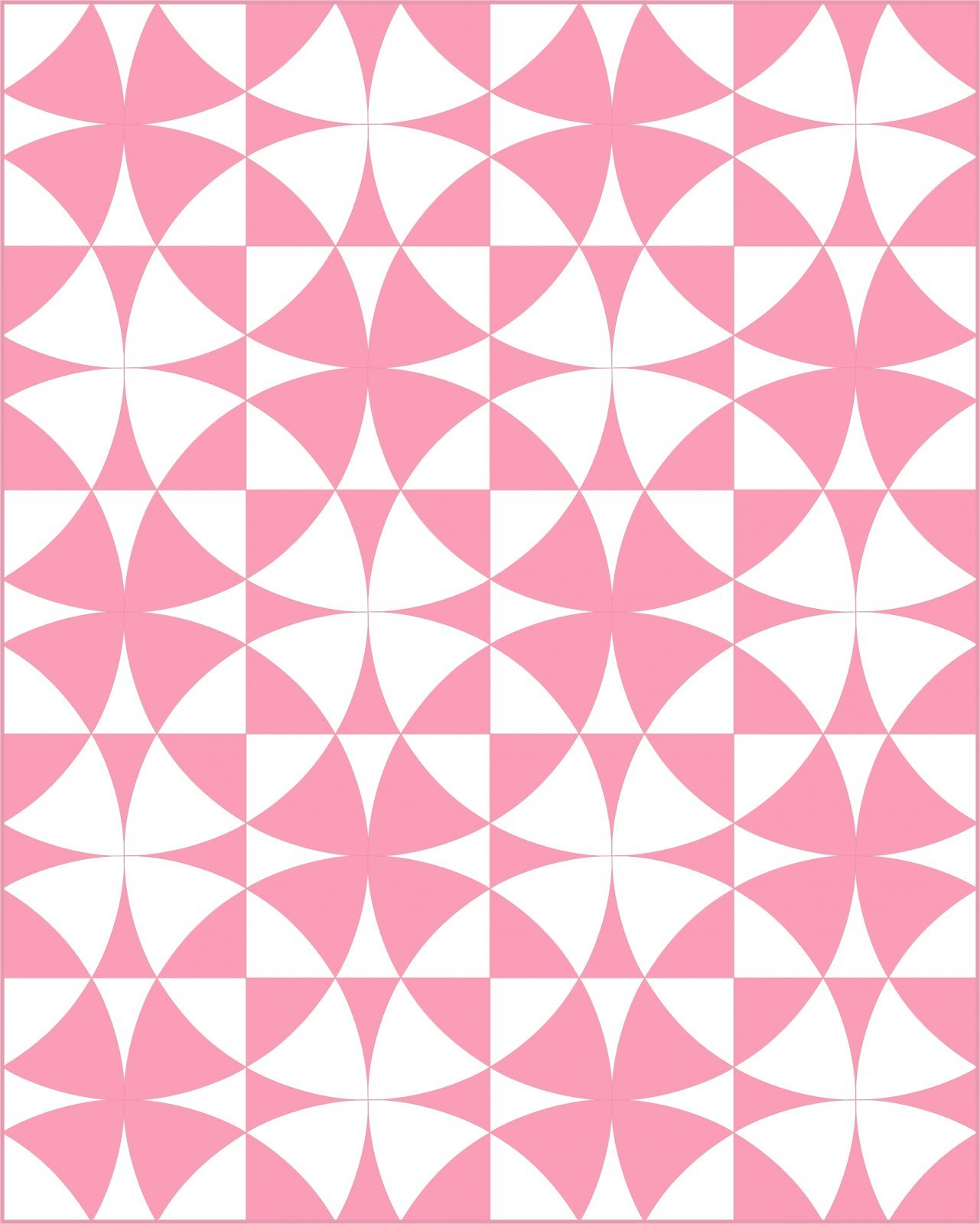 Wheel of Mystery 8 Pink and White Kit