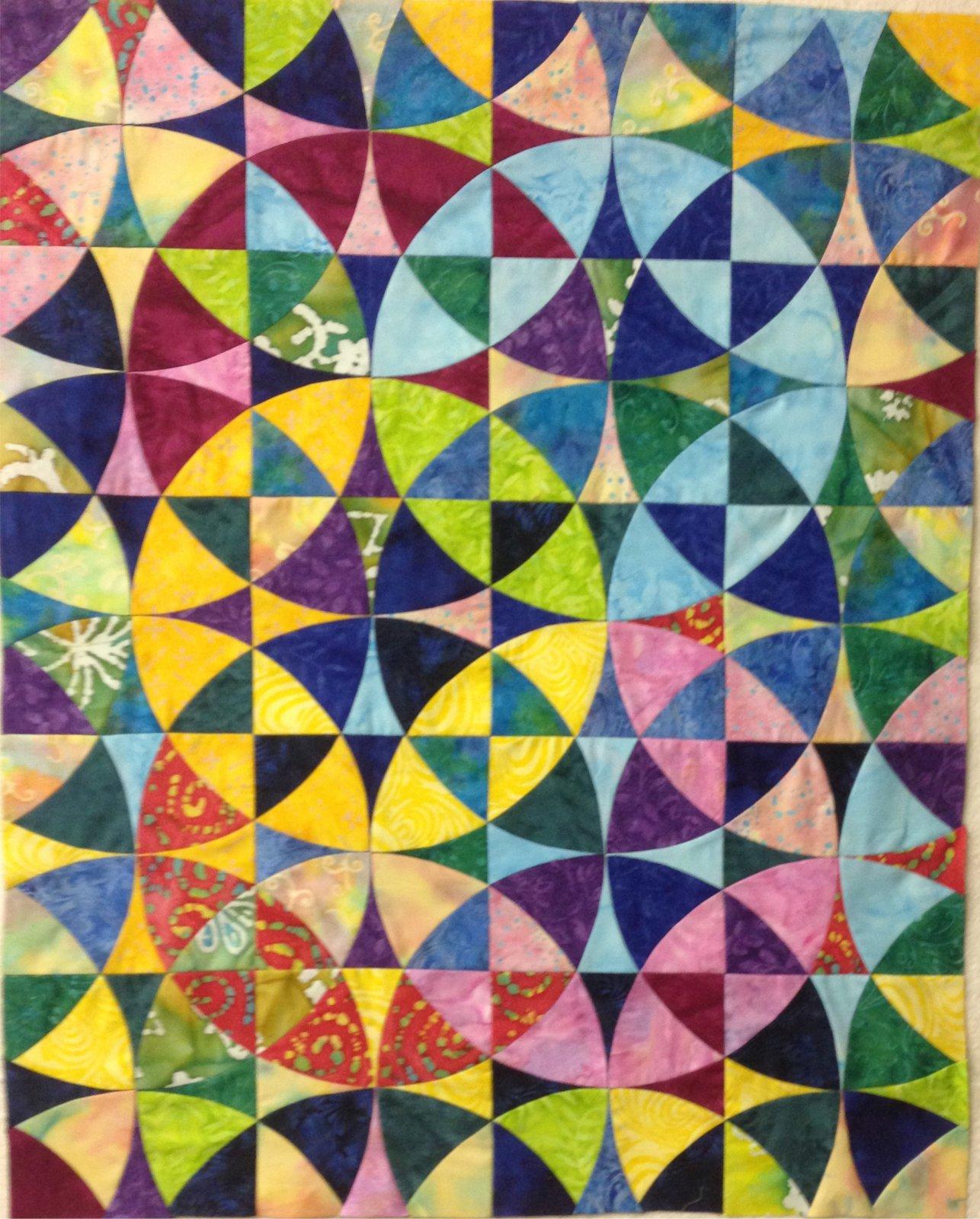 Wheel of Mystery Kit 6 Batik Brights