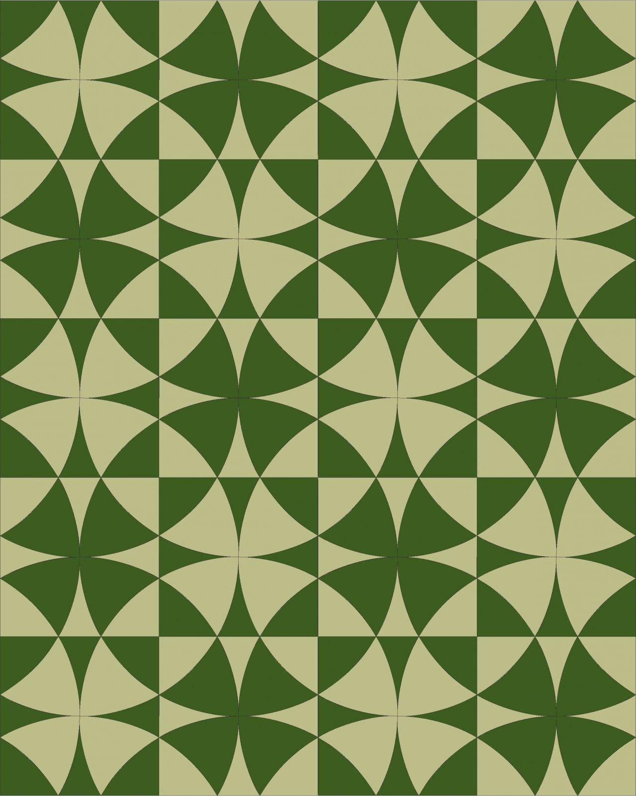 Wheel of Mystery 4 kit Green Print