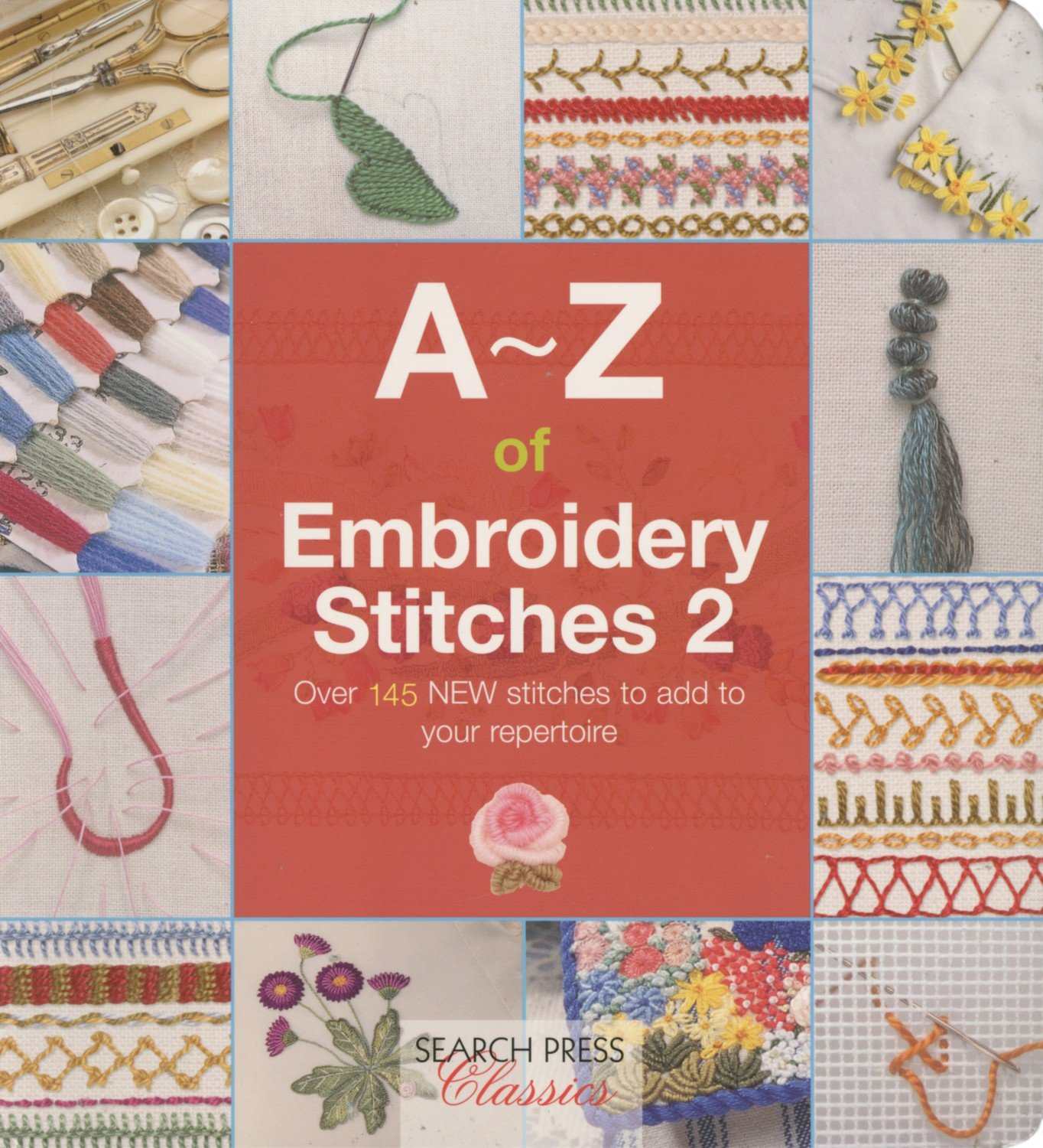 A-Z Embroidery Stitches Book #2
