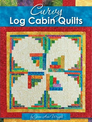 Curvy Log Cabin Quilts - Softcover