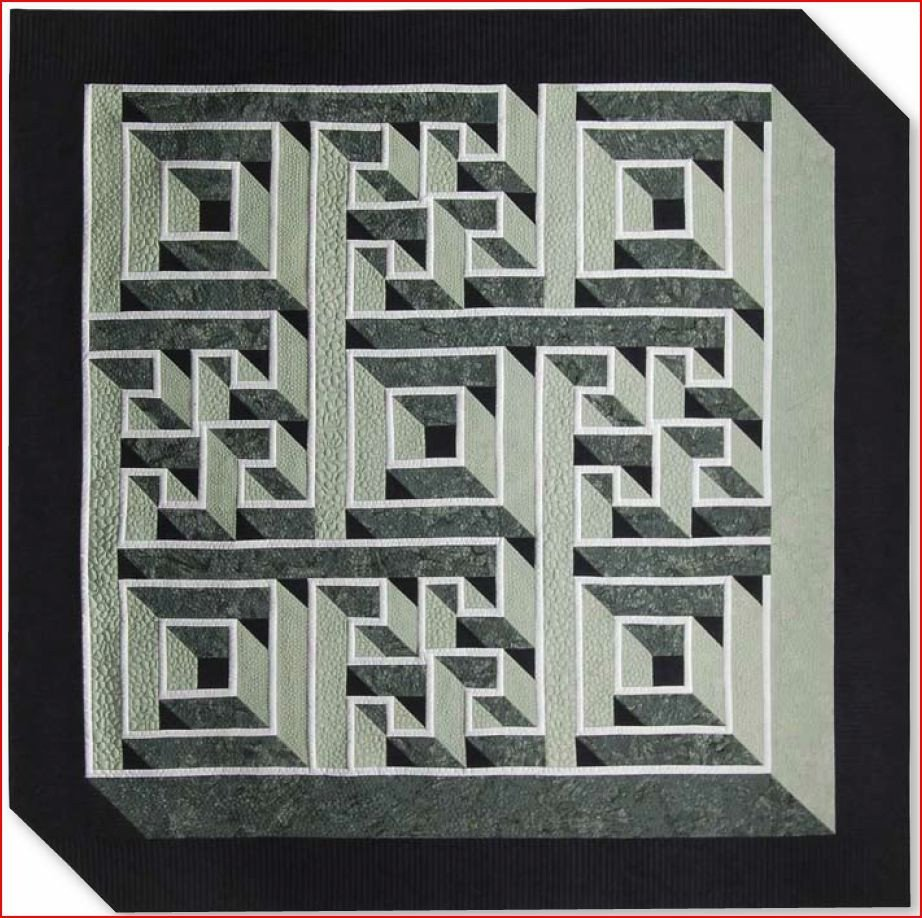 Labyrinth Walk Quilt Pattern : labrynth quilt - Adamdwight.com