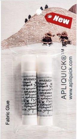 Apliquick Fabric Glue Stick - 2 Pack