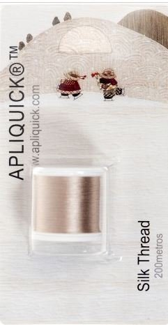 Apliquick Silk Thread - Beige