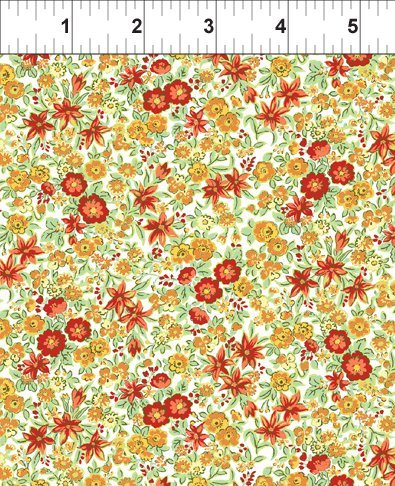 5GSE 1 Garden Delights - Lily - Orange/Red