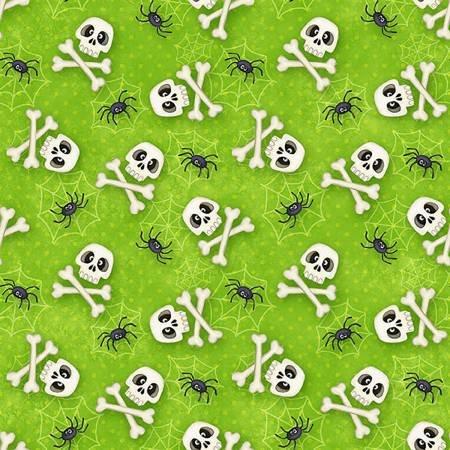 6549-66 The Count - Green Skulls