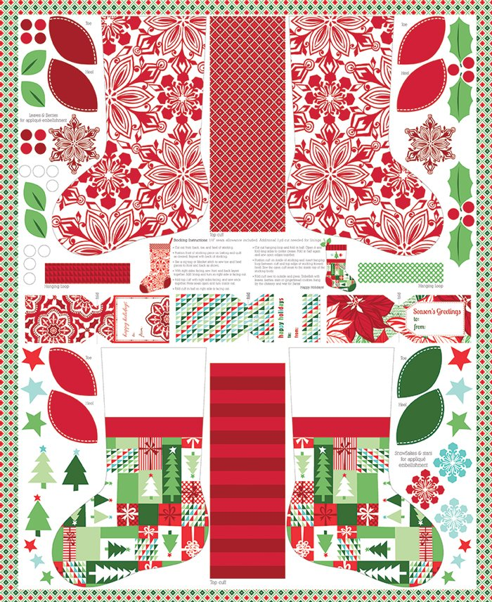 27210 11 Jingle Stocking