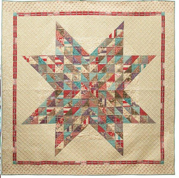 RQC 127 Paris Texas Quilt Pattern